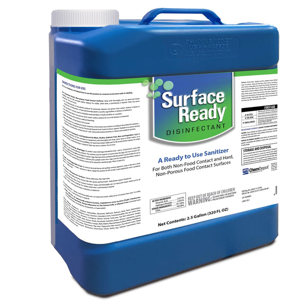 SurfaceReady 2.5 Gallon Jug