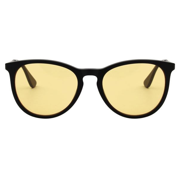 T2B Matt Black Blue Light Blockers - Night