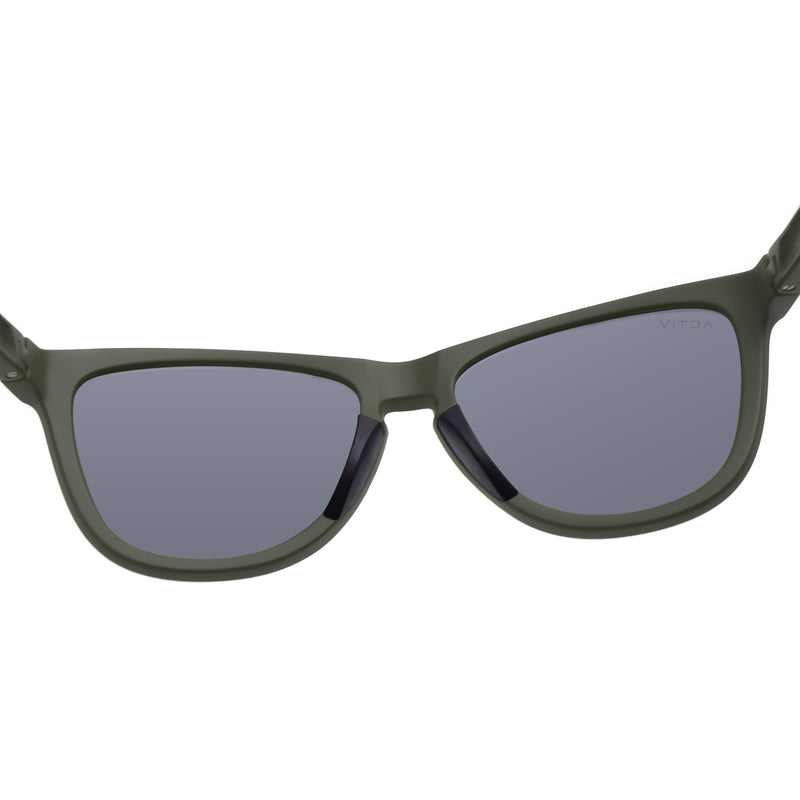 Activ One - Matte Olive w. Cool Grey Lens