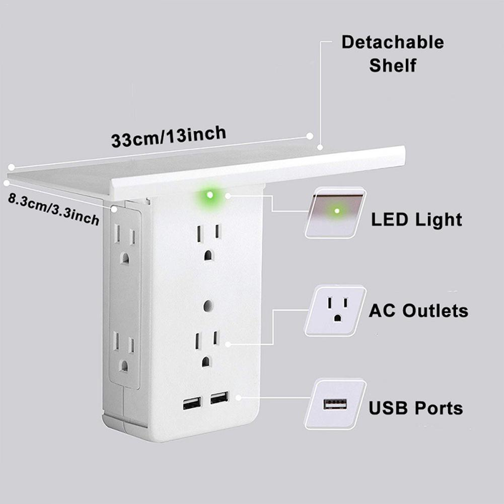Multi Function Smart Socket Shelf