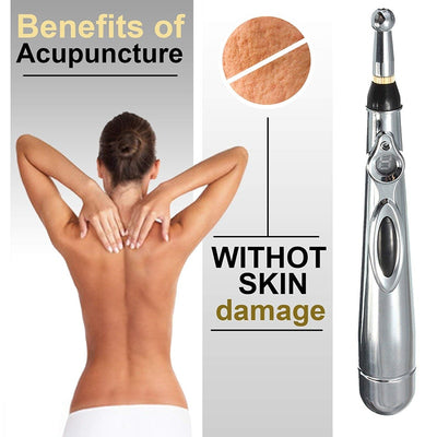 Hot Electronic Acupuncture Pen - Laser Therapy
