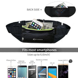 MYCARBON Fanny Pack Waist Pack with Water Bottle Holder