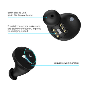 Pair of earbuds only for MYCARBON X10 plus headphones