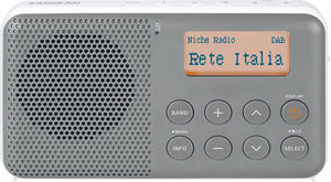 DAB+ / FM-RDS / Portable Travel Digital Radio - DPR-64