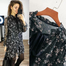 Load image into Gallery viewer, Stylish Mini Floral Print Dress Casual Party Dress
