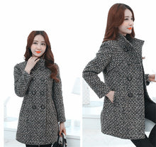 Load image into Gallery viewer, Women's Wool Blends Coat Long Outerwear Female