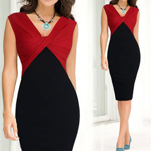 Sexy Bodycon Sleeveless Women Casual Party Dress