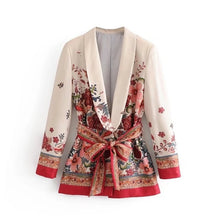Load image into Gallery viewer, Jacket Pant Suit Set Women Coat Elegant Outwear Lady Blazer