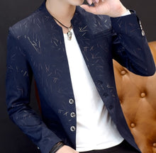 Load image into Gallery viewer, Men 's casual collar  blazers youth handsome trend