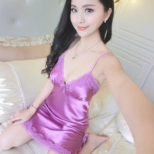 Sexy Nightdress Sleeveless Negligee