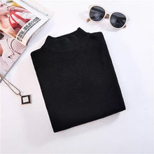Load image into Gallery viewer, Winter Turtleneck Sweaters  Short Slim Sweater