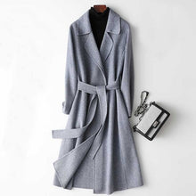 Load image into Gallery viewer, The Best Long Winter Woolen Coat For Women