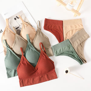 Women Bras and Panties Set  Women Lingerie set for fitness