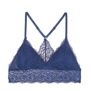Women French Style Lace Bra Soft and Thin