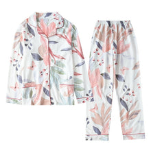 Load image into Gallery viewer, Women Cotton Pajamas Long Sleeves Sleepwear for Women