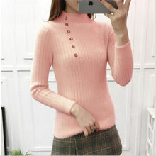 Load image into Gallery viewer, Slim Sweaters Women Warm Knitted Sweater