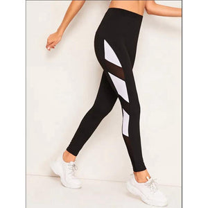 Women Leggings Elbows Workout Leggings Sporting Athleisure