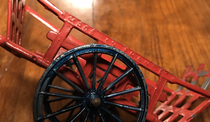 Toy, Vintage French Haywagon