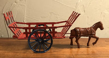 Load image into Gallery viewer, Toy, Vintage French Haywagon