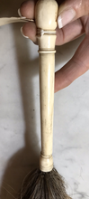 Load image into Gallery viewer, Fly Whisk, 1800's Hand Carved Bone-Horn Handle with Horsehair Tail