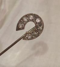 "Load image into Gallery viewer, Stickpin: Tiny vintage ""paste"" diamond"