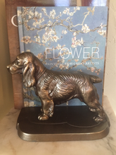 Load image into Gallery viewer, Bookends, Frankart Spaniels, (1930-1940)