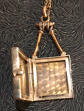 Load image into Gallery viewer, Locket, horse head, 9 kt gold