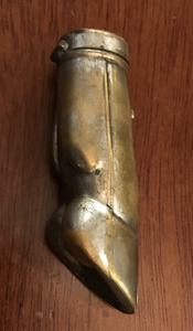 Vesta case, Antique deer foot