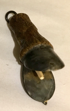 Load image into Gallery viewer, Vesta case, painted horse hoof, Desk Conversation Piece or Key Chain