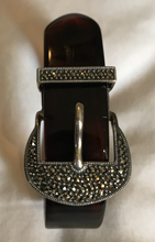 Load image into Gallery viewer, Bracelet, Marcasite Buckle by Judith Jack