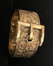 Load image into Gallery viewer, Bracelet, buckle style, Victorian, rolled gold