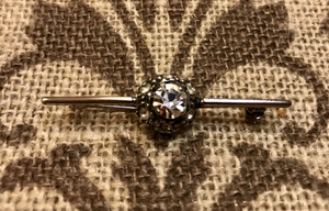 Stock pin, Dressage, Vintage faux diamonds are Bling for the Ring!