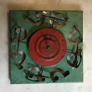 Toy Racing Game, antique spinner, desk conversation piece