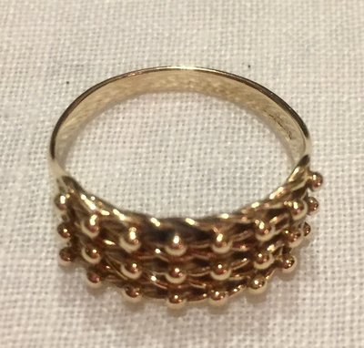 Ring, 9 kt gold