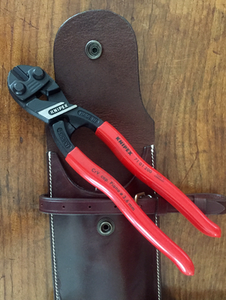 Wire Cutters, super sharp - in Fine Leather Case LIMITED QUANTITY