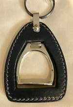 Load image into Gallery viewer, Gucci Stirrup Leather Key Fob