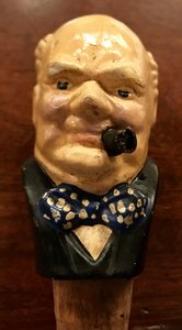 Bar/Tableware, Bottle stopper, Winston Churchill, WWII era