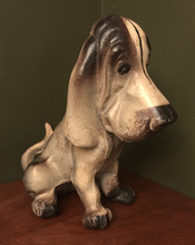 Load image into Gallery viewer, Doorstop, Basset Hound, 1930's era, cast iron
