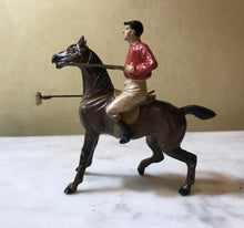 Load image into Gallery viewer, Toy Statue of Polo Player, cold painted