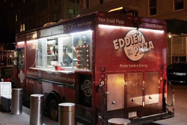 Eddie's Pizza Truck for NYC weddings