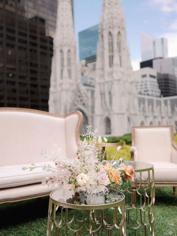white furniture rentals nyc weddings