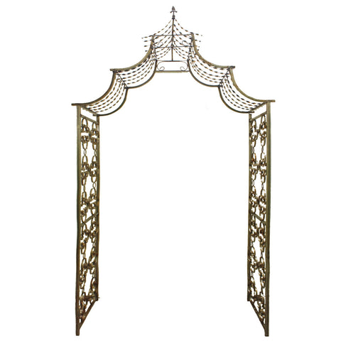 Metal Scroll Arbor rental