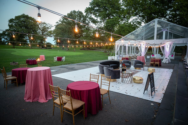 Pelham split bay golf course weddings