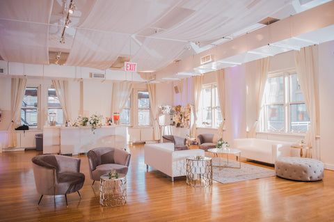 furniture rentals for events and weddings in brooklyn new york