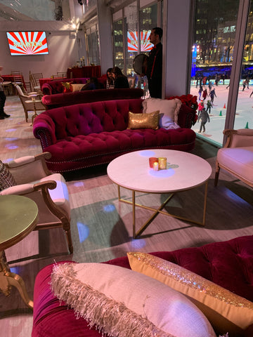 furniture rentals for a corporate holiday event in bryant park nyc