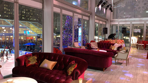 bryant park furniture rentals for a winter event
