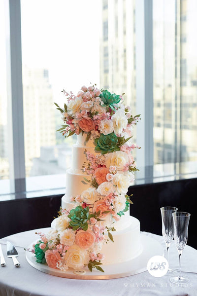 Sylvia Weinstock NYC wedding Cakes