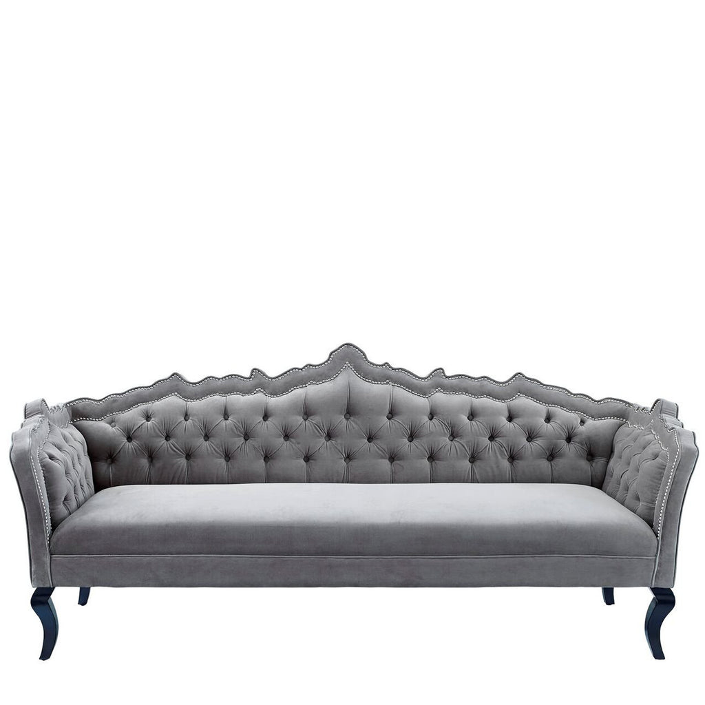 Majestic Velvet Sofa. Modern Furniture For Corporate Events