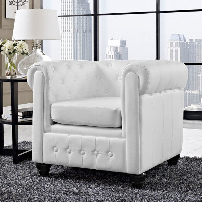 Rent this tufted chair for events and weddings