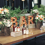 Wooden table rentals in New York